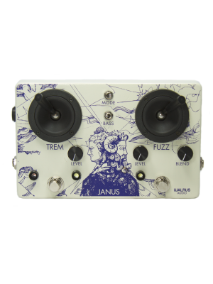 Walrus Audio Janus Fuzz/Tremolo With Joystick Control Effects Pedal