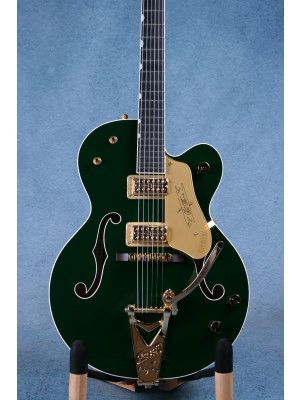 Gretsch G6120-CD-LTD Limited Edition Chet Atkins Cadillac Green Hollow Body Electric Guitar - Preowned