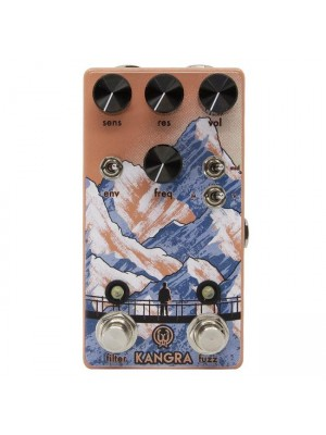 Walrus Audio Kangra Filter Fuzz Effects Pedal