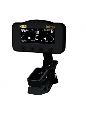Korg AW3M Dolcetto Clip On Tuner/Metronome for Orchestral Instruments