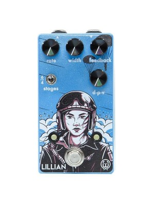 Walrus Audio Lillian Multi Stage Analog Phaser Effects Pedal
