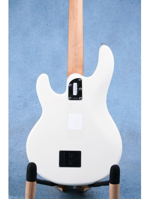 Ernie Ball Music Man Stingray Special Olympic White Rosewood Electric Bass Guitar - F76843