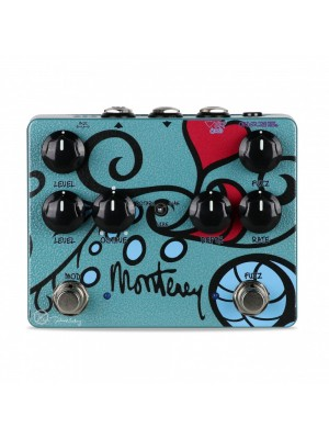 Keeley Monterey Rotary Fuzz Vibe Guitar Effect Pedal