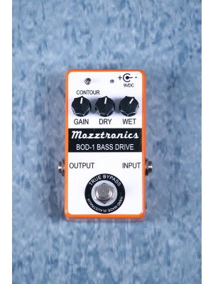 Mozztronics BOD-1 Bass Overdrive Effects Pedal