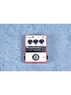 Mozztronics TD-1 Tube Driver Overdrive Effects Pedal
