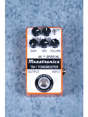 Mozztronics TM-1 Tonemeister Overdrive Effects Pedal