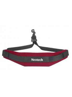 Neotech Soft Saxophone Strap with Swivel Hooks - Red