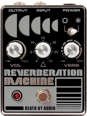 Death By Audio Reverberation Machine Guitar Effects Pedal