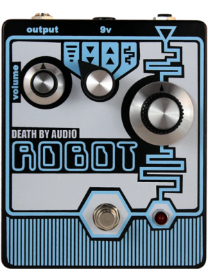 Death By Audio Robot Resynthesis Fuzz / Octave / Arpeggiator Guitar Effects Pedal