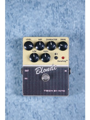 Tech 21 Sansamp Blonde Amp Sim Effects Pedal Preowned