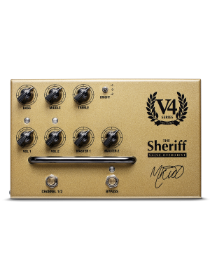 Victory V4 The Sheriff Valve Pedal Preamp
