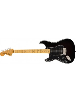 Squier Classic Vibe 70s Stratocaster - HSS, Left-Handed, Maple Fingerboard, Black