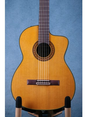 Takamine TC132SC Nylon String Classical Acoustic Electric Guitar - 56070503