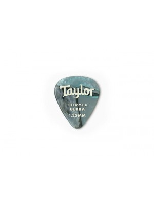 Taylor Premium 351 Thermex Ultra Picks- Abalone- 1.25mm- 6-Pack