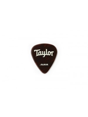 Taylor Celluloid 351 Picks- Tortoise Shell- 0.46mm-  12-Pack