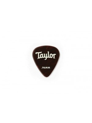 Taylor Celluloid 351 Picks- Tortoise Shell- 0.96mm-  12-Pack