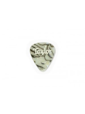 Taylor Celluloid 351 Picks- Abalone- 0.71mm- 12-Pack