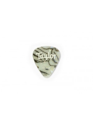 Taylor Celluloid 351 Picks- Abalone- 0.96mm- 12-Pack