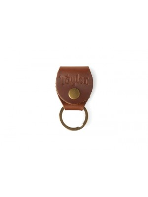 Taylor Leather Keychain Pick Holder - Brown