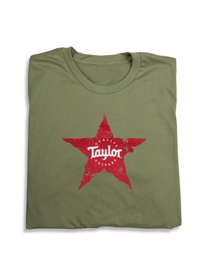 Taylor Star T-shirt - Olive Large