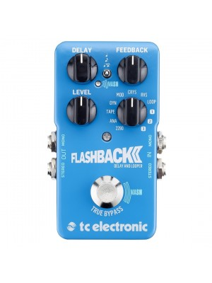 TC Electronic Flashback 2 Delay and Looper Guitar Effect Pedal