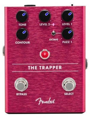 Fender The Trapper Dual Fuzz Pedal