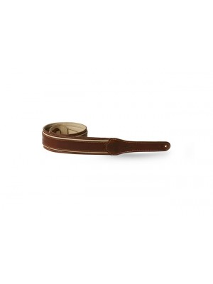 Taylor Element Strap- Brown/Cream Leather- 2.5""