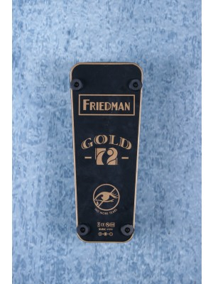 Friedman No More Tears Gold-72 Wah Effects Pedal Preowned