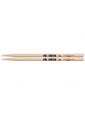 Vic Firth American Classic Hickory Drumsticks - 'Rock' Nylon Tip