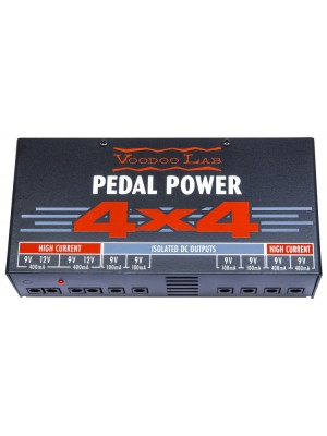 Voodoo Lab Pedal Power 4X4 Effects Pedal Power Supply