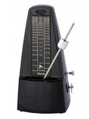 Cherub WSM-330 Mechanical Metronome - Black