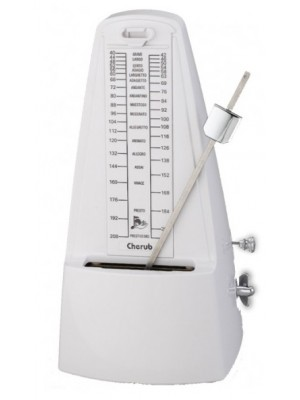 Cherub WSM-330 Mechanical Metronome - White
