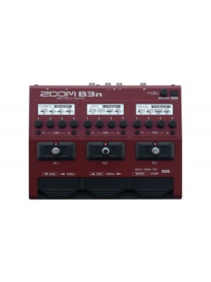 ZOOM B3N Bass Multi-Effects Processor and Amp Simulator